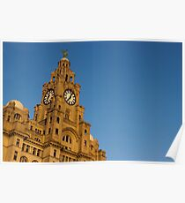 Royal Liver Building - Liverpool Poster