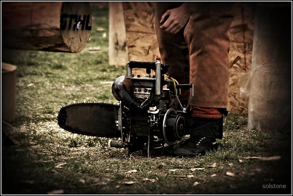 One of the Monster Chainsaws by solstone