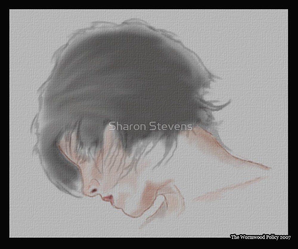 Face -side view by Sharon Stevens