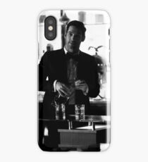 Lucifer quote - boyfriend material iPhone Case/Skin