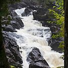 Ragged Fall - Oxtongue river by Jim Cumming