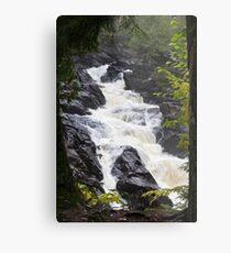 Ragged Fall - Oxtongue river Metal Print