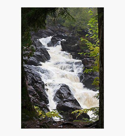 Ragged Fall - Oxtongue river Photographic Print