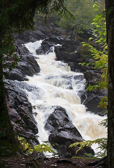Ragged Fall - Oxtongue river by Jim Cumming
