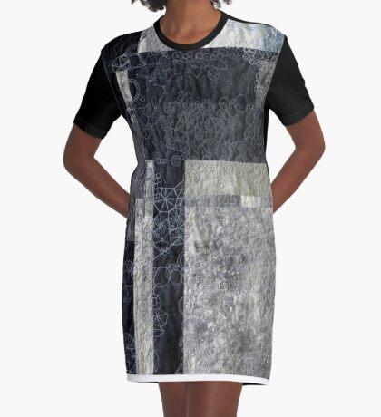 Coastline in Detail #2 Graphic T-Shirt Dress