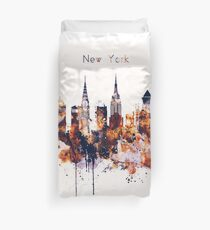 NYC New York Skyline Poster Kunstdruck Bettbezug