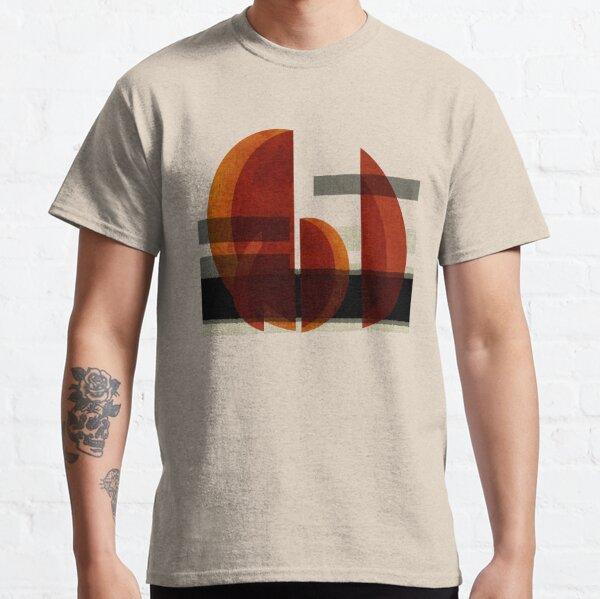 """Barcos abstractos al atardecer"" Classic T-Shirt"