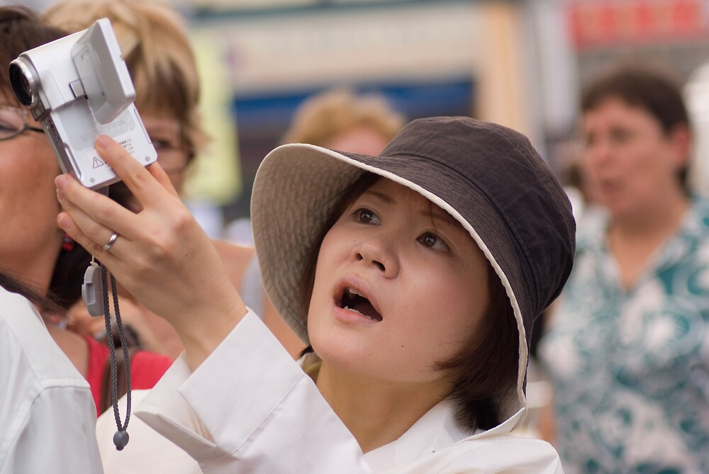 Japanese tourist by richardseah