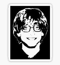 Young Bill Gates Sticker