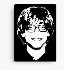 Young Bill Gates Canvas Print