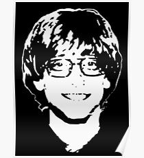 Young Bill Gates Poster