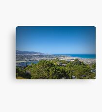 Looking Over Wellington, New Zealand  #3 Canvas Print