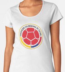 Federacion Colombiana de futebol - colombian soccer Women's Premium T-Shirt