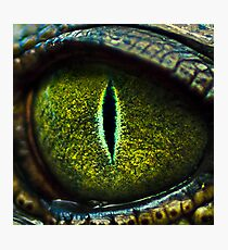 Eye of the Crocodile II [Print & iPad Case] Photographic Print