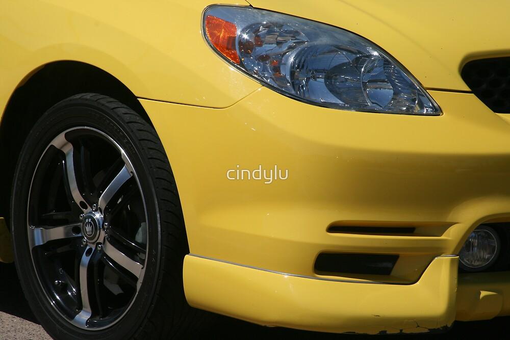 Yellow car by cindylu