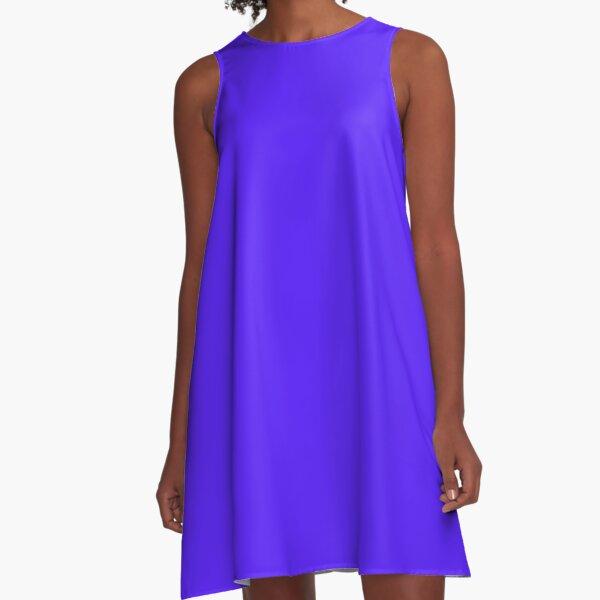 Han Purple A-Line Dress