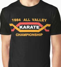 ALL VALLEY KARATE CHAMPIONSHIP 1984 Graphic T-Shirt