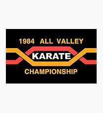 ALL VALLEY KARATE CHAMPIONSHIP 1984 Photographic Print