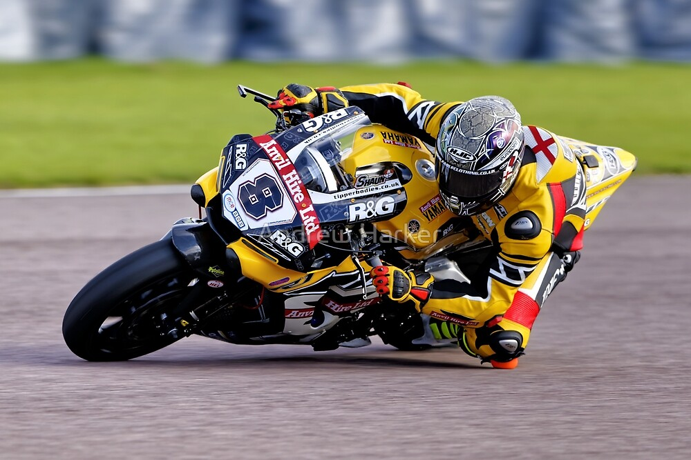 British Superbike Rider Shaun Winfield By Andrew Harker Redbubble
