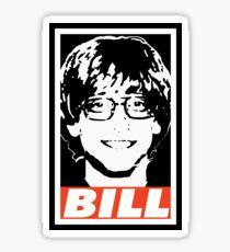 BILL Sticker