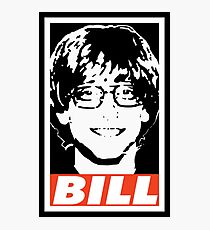 BILL Photographic Print