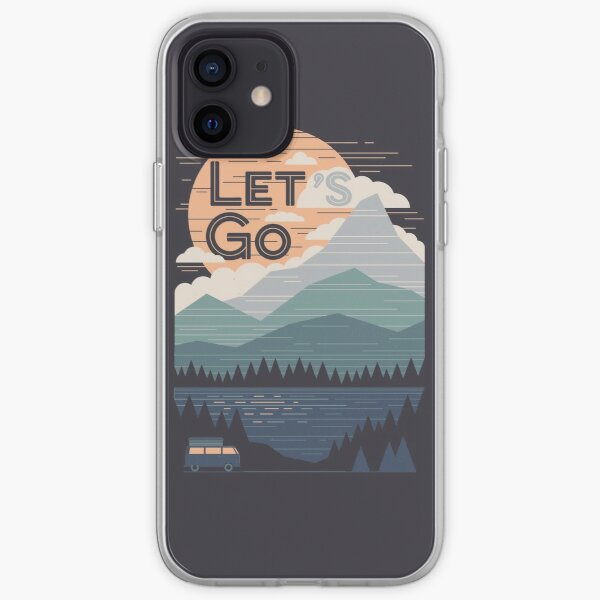 Let's Go iPhone Soft Case