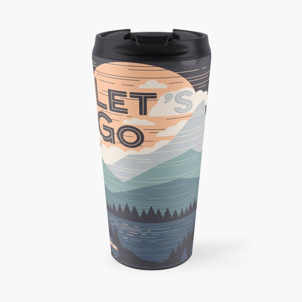 Let's Go Travel Mug