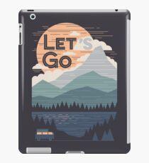 Let's Go iPad Case/Skin