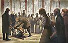 The execution of Jonas Falk by Filippo Vanzo