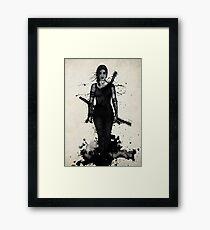 Onna Bugeisha Framed Print
