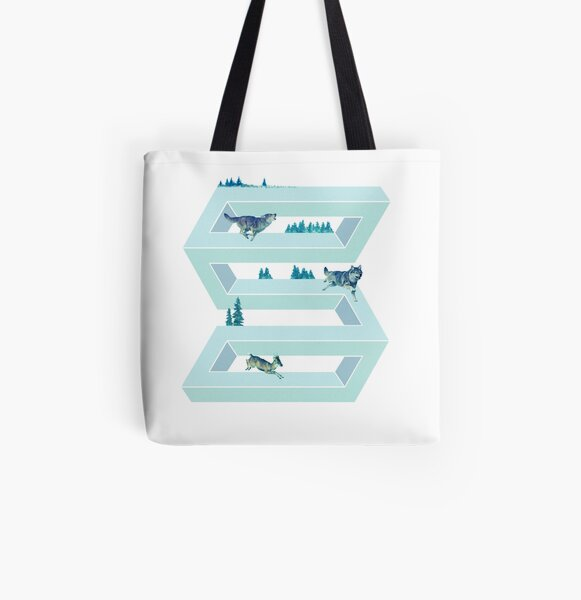 The Impossible Pursuit  All Over Print Tote Bag
