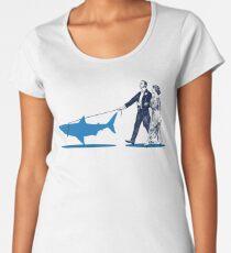Walking the Shark Women's Premium T-Shirt