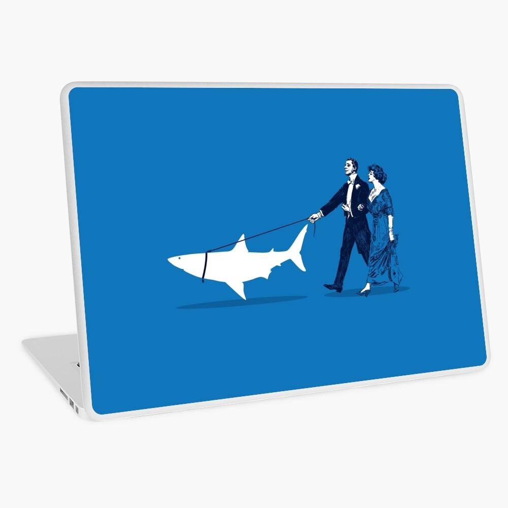 Den Hai gehen Laptop Folie