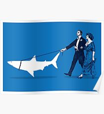 Walking the Shark Poster