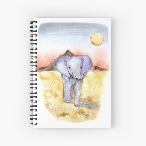 Elephant Walk Spiral Notebook
