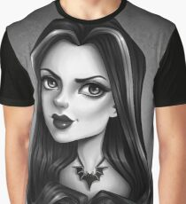 LILY MUNSTER Graphic T-Shirt