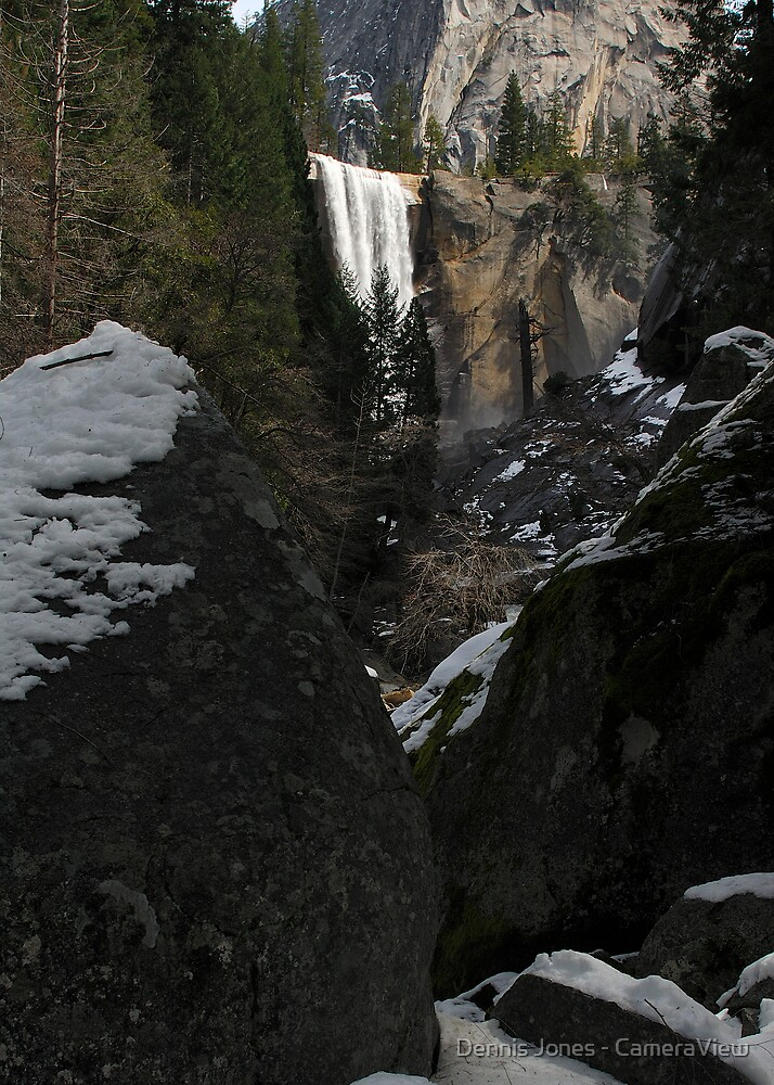 A Different View of Vernal Fall by Dennis Jones - CameraView