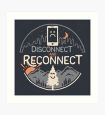 Reconnect Art Print