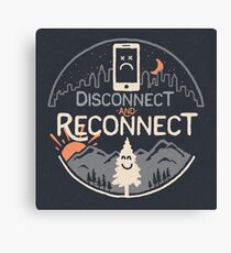 Reconnect Canvas Print