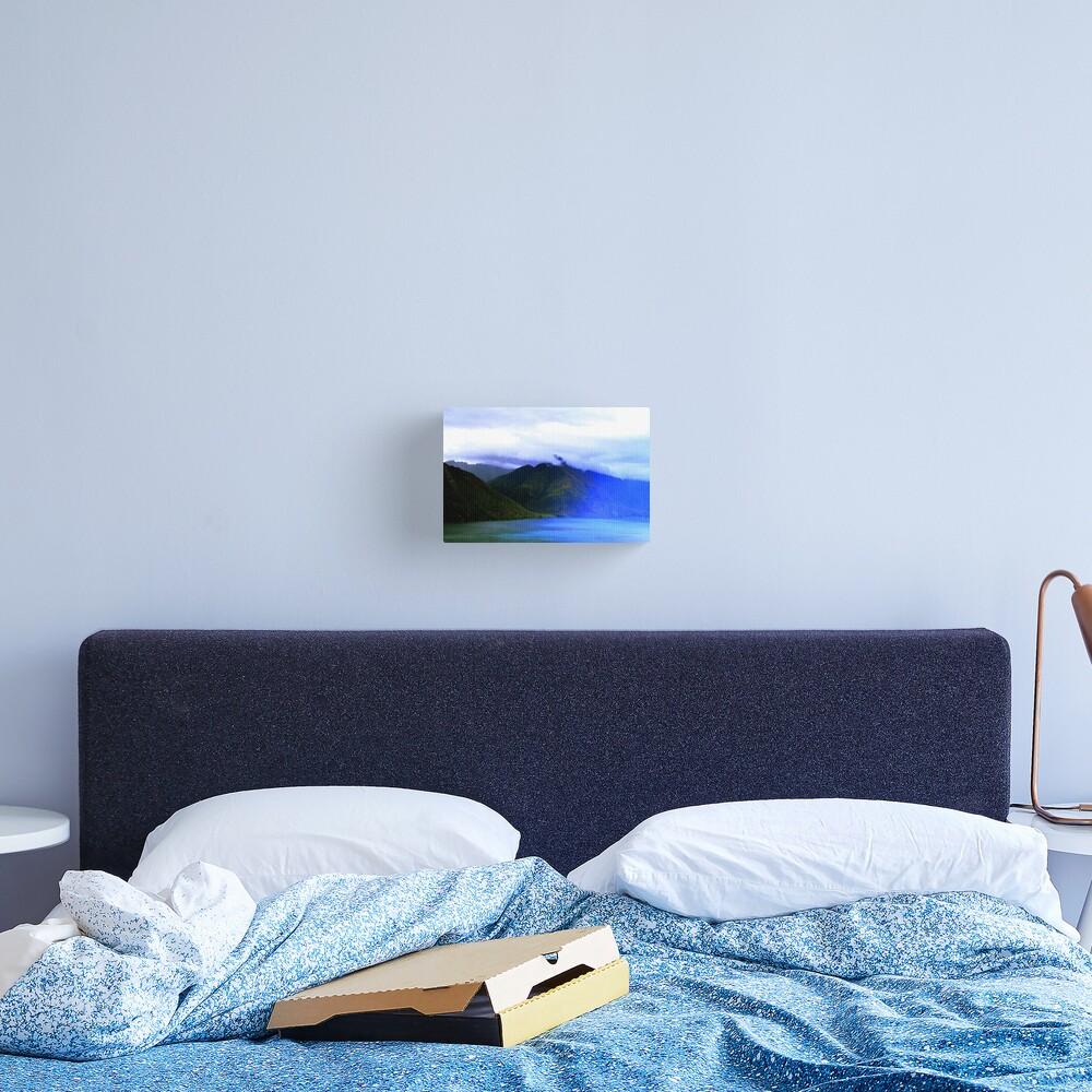 New Zealand Mountains Landscape Photography Canvas Print