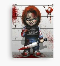 Chucky from Childs play Canvas Print