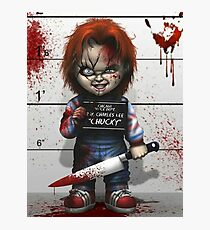 Chucky from Childs play Photographic Print