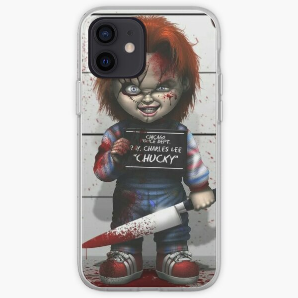 Chucky from Childs play iPhone Soft Case