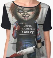 Chucky from Childs play Chiffon Top