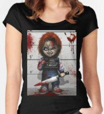 Chucky from Childs play Women's Fitted Scoop T-Shirt