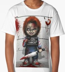 Chucky from Childs play Long T-Shirt
