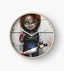 Chucky from Childs play Clock
