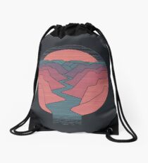Canyon River Drawstring Bag