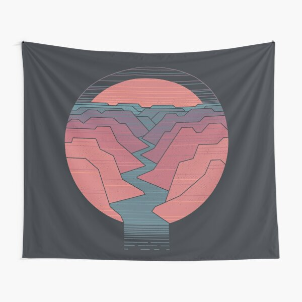 Canyon River Tapestry