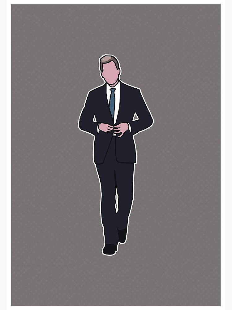 suits harvey specter greeting card by barneyrobble redbubble redbubble